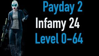 Payday 2 Infamy 24 | Part 1 | Level 0-64 | Xbox One