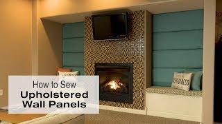 How to Make Upholstered Wall Panels thumbnail