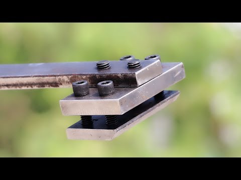 Make A Metal Bender Tool || New DIY Tool Idea