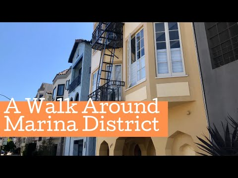 A Walk Around The Marina District | San Francisco, CA