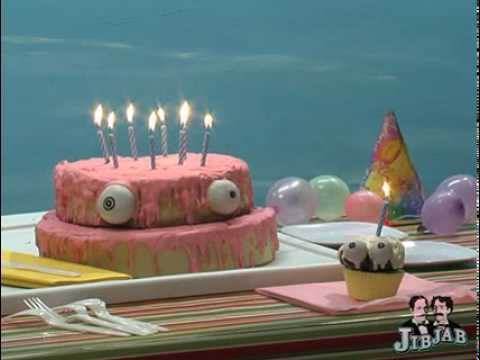Happy Birthday Song Funny Singing Cake YouTube