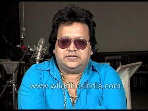 Bappi Lahiri, an Indian music composer on Hindi film music