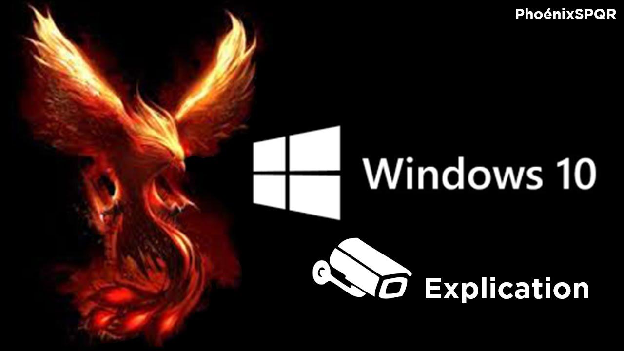 escroquerie windows 10