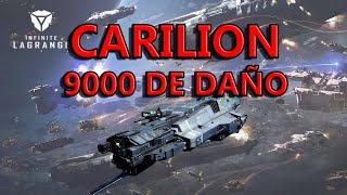 INFINITE LAGRANGE-  CARILION TIPO B CON CAÑON PESADO, 9000 K DE DAÑO, HABILIDADES SORPRENDENTES!!!