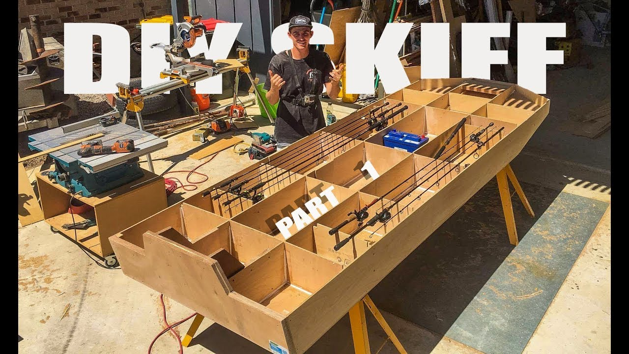 How To Build a DIY Plywood Boat // Part
