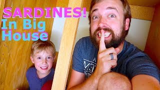 Playing Sardines! In Our Whole Big House!