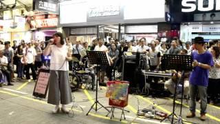 人在旅途灑淚時+ 檳城艷+ 每當變幻時-- Ah Lam & Fanny -- 3L樂隊香港街...
