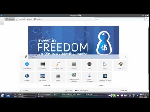 Using your software repository in Kubuntu Linux 15.04