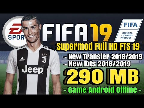 Download FIFA 19 mod FTS New Update Kits & Player Club 2018/2019 | Ronaldo Juventus Android Mobile