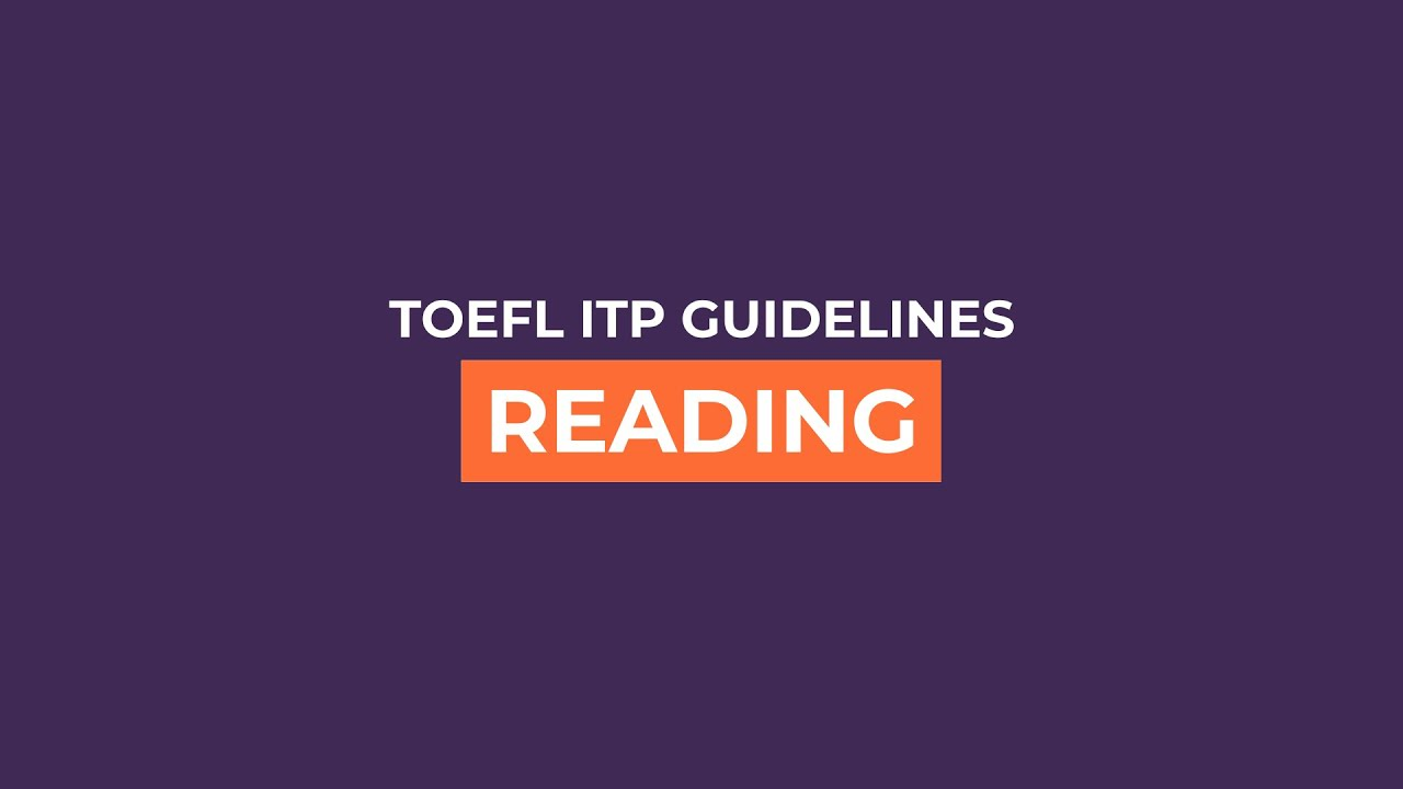 Toefl Itp Reading Section Practice Through Examples And Get Tips Toefl itp reading comprehension