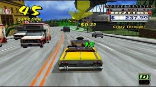 Crazy Taxi: Original Mode - S Rank (PC Gameplay)