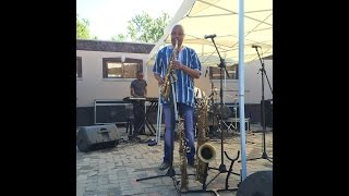 Bhudaza Rehearsing to Bob James