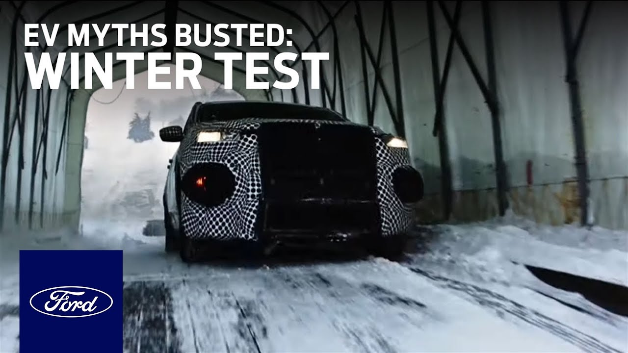 EV Myths Busted: Winter Test   Electric Vehicles   Ford