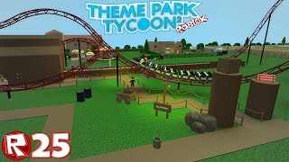 Roblox - Episode 25 | Theme Park Tycoon 2 - Gold Rush / FR