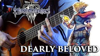 Kingdom Hearts 3 - Dearly Beloved (Classical Guitar Cover)
