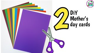 DIY Mother's Day card / Mother's day card making handmade / Mother's Day pop up card making #WithMe