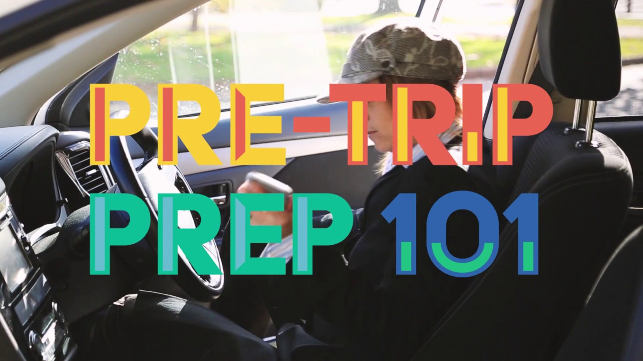 Pre-trip preparation 101 - YouTube