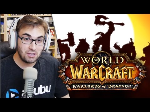 BRKsEDU Noobando no WORLD OF WARCRAFT!!! Warlords of Draenor Gameplay!