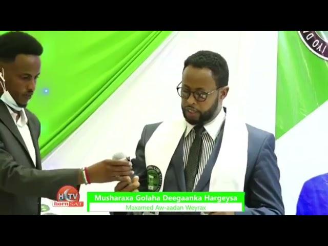 Waxaa Sharaf U Ah Xisbiga Ucid  In Haldoorkii Somaliland Ay Maanta Ka Sharaxan Yihiin Xoghaye C/qani