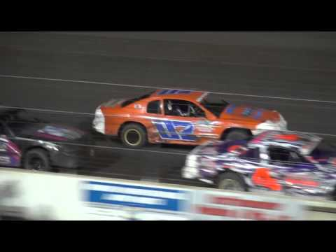2015 Shiverfest Stock Car B-Main Lee County Speedway 10/24/15