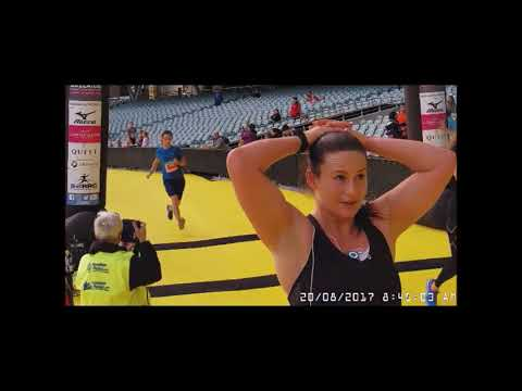 The Athlete's Foot 2017 Adelaide Marathon Festival Finish Line