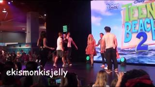 Teen Beach 2 Cast - Teaching That