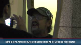 """Heavily Armed Local """"Law Enforcement"""" Thugs Bind and Kidnap 9 Peaceful Activists"""