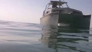 Piccolo Jarcat Catamaran Solar Sail Cruising Back Country Fla Keys