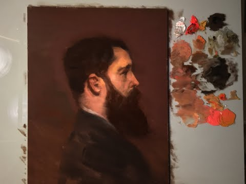 Portrait Painting Tutorial | Sargent Master Copy using Zorn Palette