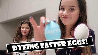 Dyeing Easter Eggs  WK 378.4 Bratayley