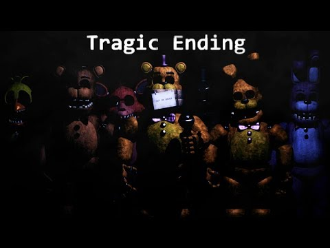 ESCAPING THE UNDERGROUND ANIMATRONIC BUNKER - FredBear and Friends Left to Rot TRAGIC ENDING