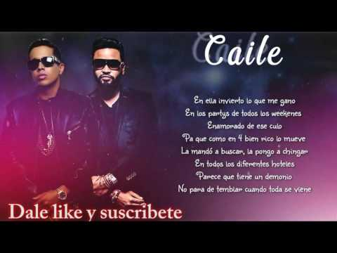 Caile LETRA Official  - Zion Ft De La Ghetto Ft Bryant Myers Ft Bad Bunny (Video Original)