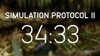 Minecraft Speedrun: Simulation Protocol II: Overload Attempt #3 (00:34:33:065) [WR]