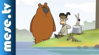 Log Jam - Horgászat (rajzfilm) | MESE TV