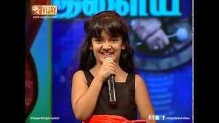 Super Singer Junior - Vizhigal Meeno by Spoorthi