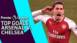 Arsenal v. Chelsea | Top 5 Premier League Goals | NBC Sports