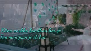Hamdard  romantic song  whatsapp status