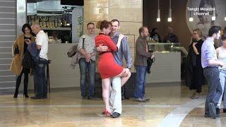 Real Russia. Tango flashmob in Moscow City.  Танго флешмоб в Москва Сити. 2017.