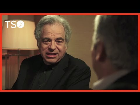 Backstage with Peter Oundjian: Itzhak Perlman