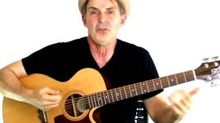 Beginning Guitar Chords 101 - Lesson#10: Leaving On A Jet Plane