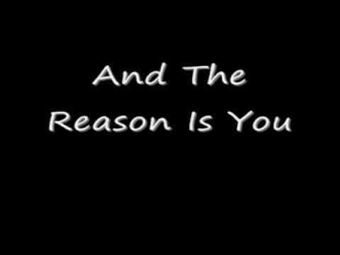 hoobastank the reason lyrics youtube