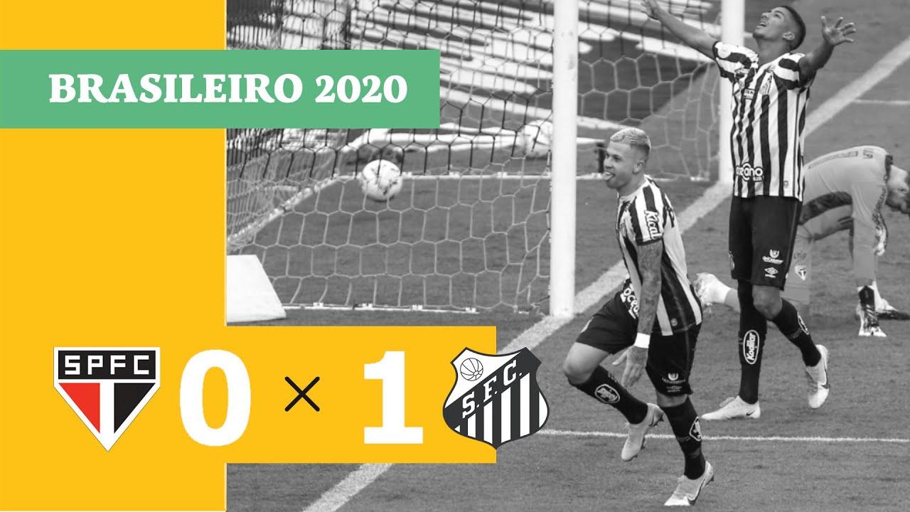 Сан-Паулу  0-1  Сантос видео