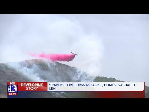 42 homes evacuated,