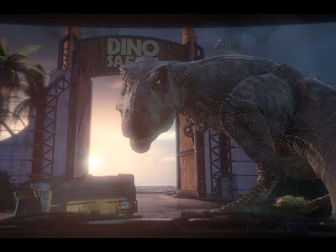 Escape Travel Trailer >> Trailer Dino Escape - Portaventura 2017 - YouTube