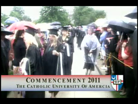 CUA Commencement, 2011