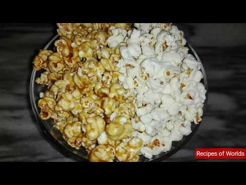 Homemade Caramel Popcorn Without Corn Syrup ,salted Popcorn Without Oven By Recipes Of Worlds