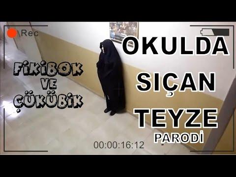 Okulda Sıçan Türbanlı Teyze - PARODİ