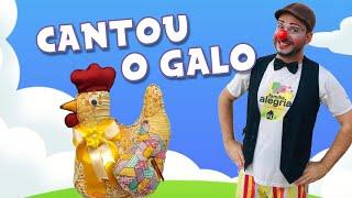 ESPECIAL DE PÁSCOA - CANTOU O GALO