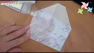 МК, Крутой конверт из бумаги своими руками, просто и быстро, оригами