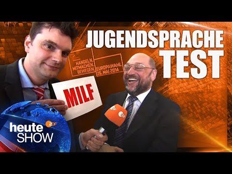 Was ist eine MILF? Lutz van der Horst testet die Sprachkenntnisse der Politiker | heute-show